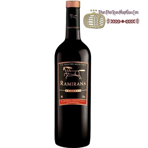 Rượu Vang Ramirana Reserva [HT]