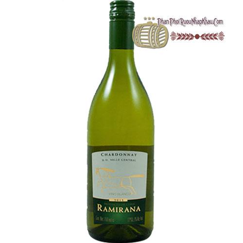 Rượu Vang Ramirana Varietal Chardonnay
