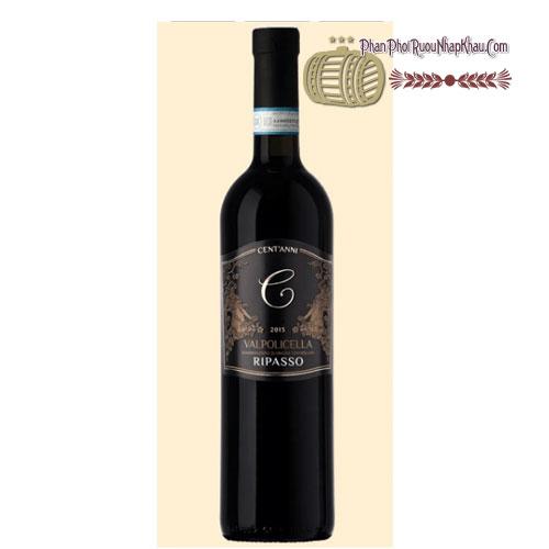 Rượu vang Ripasso Valpolicella Cent'Anni - DOC [PE]