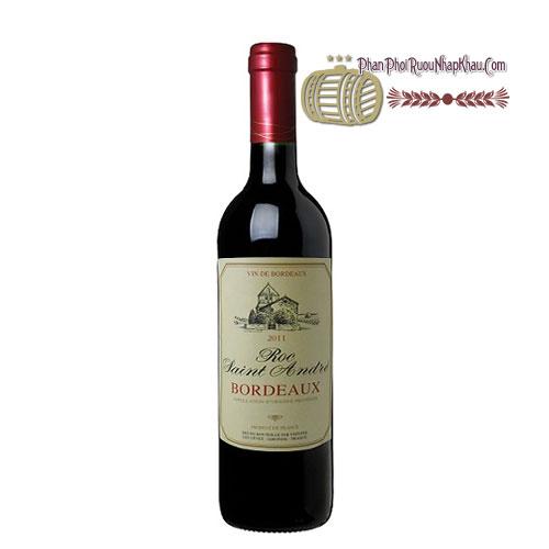 Rượu vang Roc Saint Andre [PE] - phanphoiruounhapkhau.com