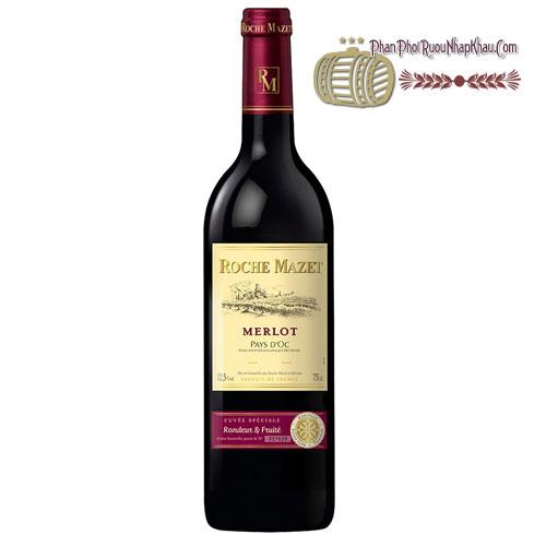 Rượu Vang Roche Mazet Vin De Pays D'oc [HT]