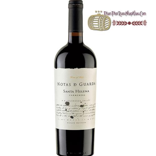 Rượu vang Santa Helena Notas D Guarda