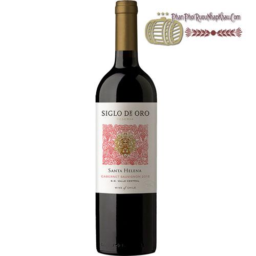 Rượu vang Santa Helena Siglo De Oro ht