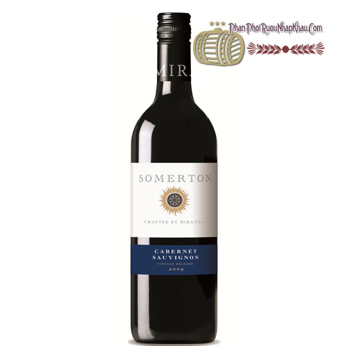 Rượu vang Somerton Cabernet Sauvignon [PE] - phanphoiruounhapkhau.com