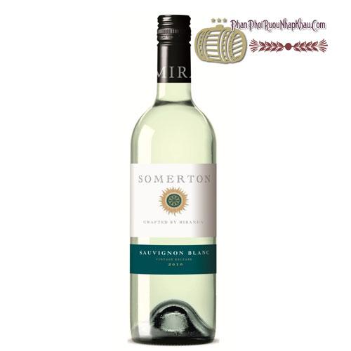 Rượu vang Somerton Sauvignon Blanc [PE] - phanphoiruounhapkhau.com