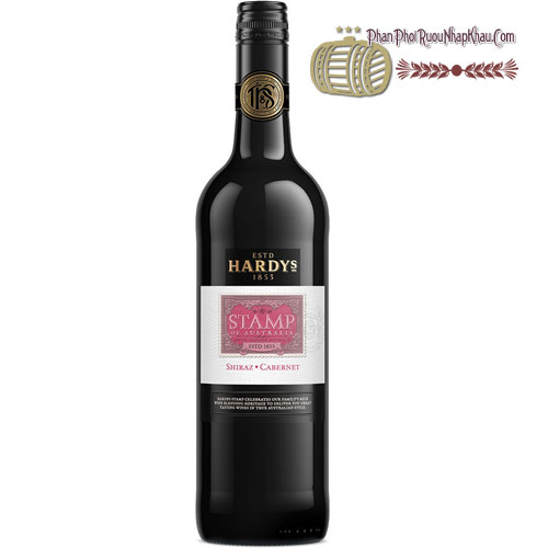 Rượu vang Stamp Shiraz Cabernet [HT]