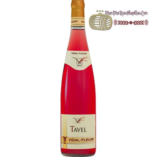 Rượu Vang Tavel By Vidal Fleury
