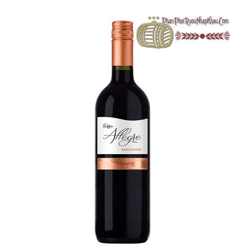 Rượu vang Terre Allegre Sangiovese [PE] - phanphoiruounhapkhau.com