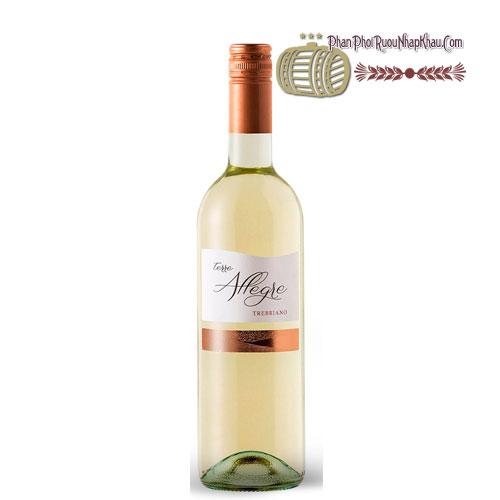 Rượu vang Terre Allegre Trebbiano [PE] - phanphoiruounhapkhau.com