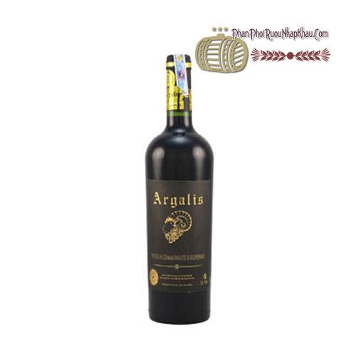 Rượu vang Vin De France Argalis [PE] - phanphoiruounhapkhau.com