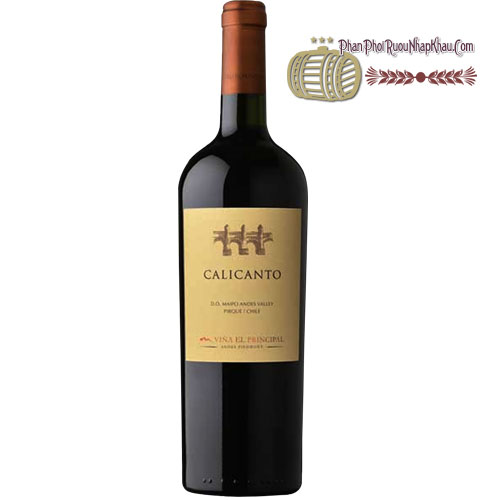 Rượu vang Vina El Principal Calicanto [BM] - phanphoiruounhapkhau.com