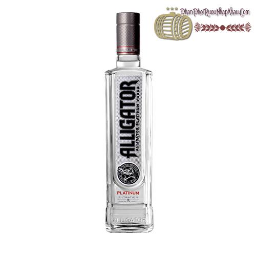 Rượu Vodka Cá Sấu Đen - phanphoiruounhapkhau.com