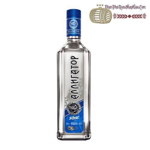 Rượu Vodka Cá Sấu Xanh - phanphoiruounhapkhau.com