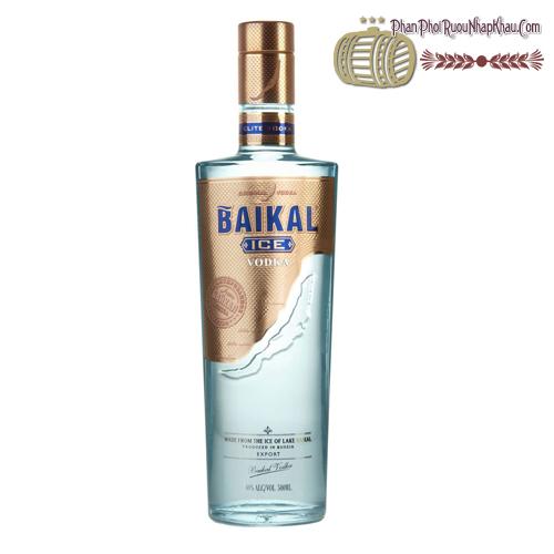 Rượu Vodka Baikal - phanphoiruounhapkhau.com