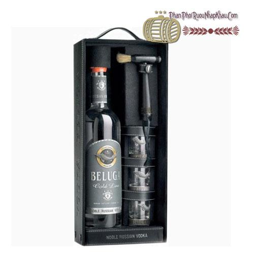 Rượu Vodka Beluga Gold Line 3 Shot [Beluga] - phanphoiruounhapkhau.com