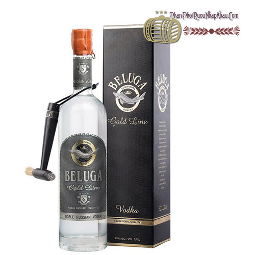 Rượu Vodka Beluga Gold Line carton [Beluga] - phanphoiruounhapkhau.com
