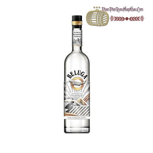 Rượu Vodka Beluga Noble Winter [Beluga] - phanphoiruounhapkhau.com