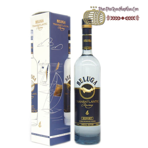 Rượu Vodka Beluga Transatlantic Có Hộp [Beluga] - phanphoiruounhapkhau.com