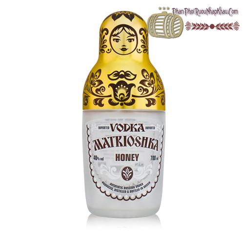 Rượu Vodka Búp Bê Matrioshka - phanphoiruounhapkhau.com