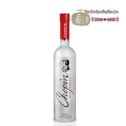 Rượu Vodka Chopin Rye 300ml [VA] - phanphoiruounhapkhau.com