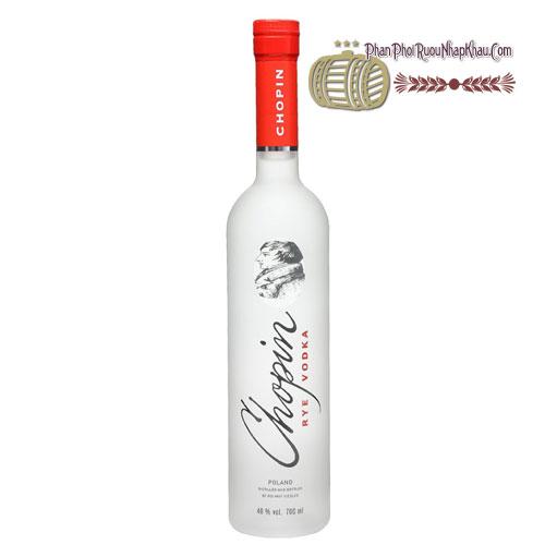 Rượu Vodka Chopin Rye 500ml [VA] - phanphoiruounhapkhau.com