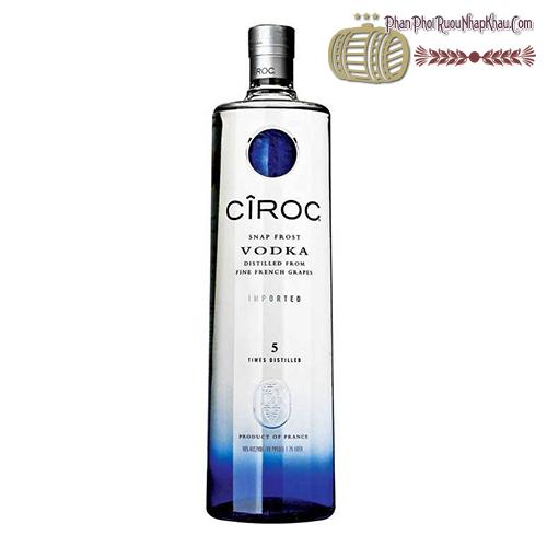 Rượu Vodka Ciroc 750ml - phanphoiruounhapkhau.com