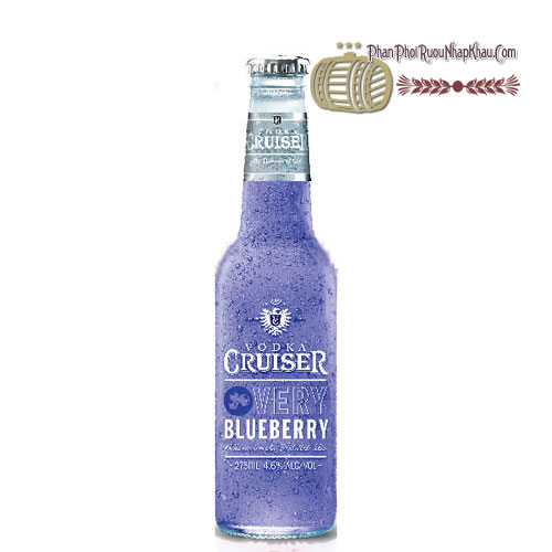 Rượu Vodka Cruiser Very Blueberry [BM] - phanphoiruounhapkhau.com