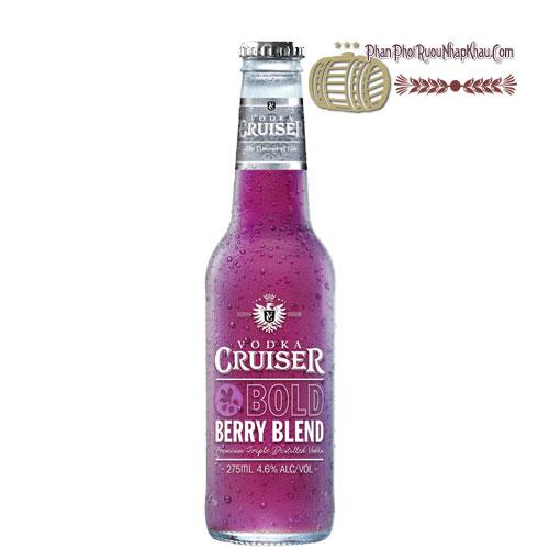 Rượu Vodka Cruiser Bold Berry Blend [BM] - phanphoiruounhapkhau.com