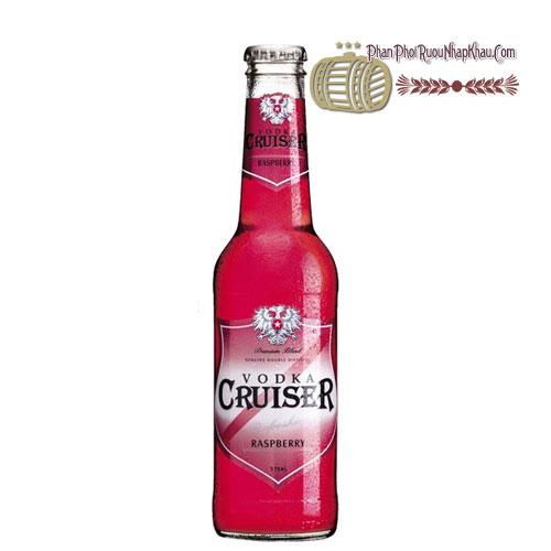 Rượu Vodka Cruiser Wild Raspberry [BM] - phanphoiruounhapkhau.com