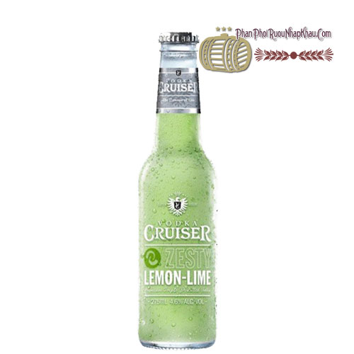 Rượu Vodka Cruiser Zesty Lemon - Lime [BM] - phanphoiruounhapkhau.com