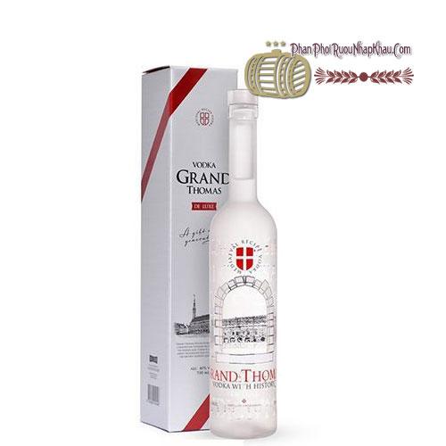 Rượu Vodka Grand Thomas Deluxe [PE] - phanphoiruounhapkhau.com