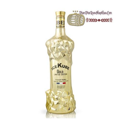 Rượu Vodka Ice Kube Gold [BM] - phanphoiruounhapkhau.com