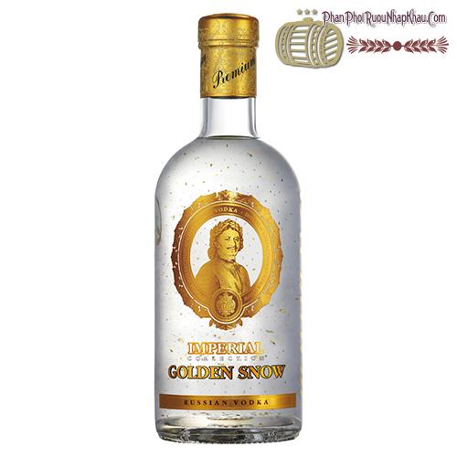 Rượu Vodka Imperial Golden Snow - Rượu Vodka Sa Hoàng Tuyết Vàng - phanphoiruounhapkhau.com
