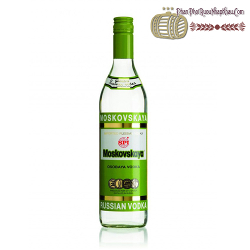 Rượu Vodka Moskovskaya - phanphoiruounhapkhau.com