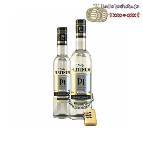 Rượu Vodka Platinum Pt - phanphoiruounhapkhau.com