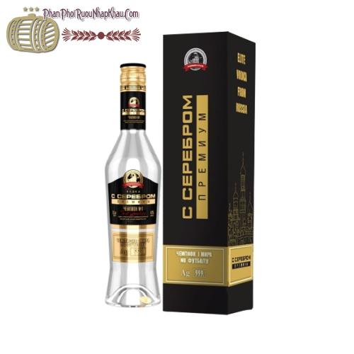 Rượu Vodka Silver Premium Champion - Rượu Vodka Đồng Vàng - phanphoiruounhapkhau.com