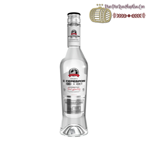 Rượu Vodka Silver Premium - Rượu Tem Bạc - phanphoiruounhapkhau.com