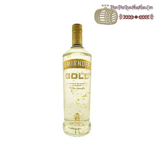 Rượu Smirnoff Gold Vảy Vàng
