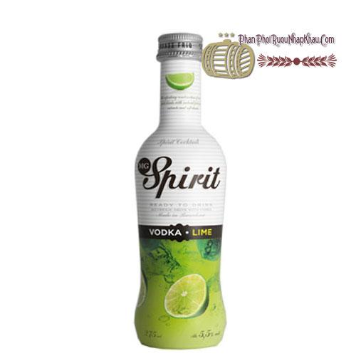 Rượu Vodka Spirit Lime [BM] - phanphoiruounhapkhau.com