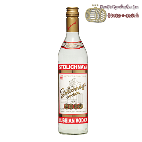 Rượu Vodka Stolichnaya - phanphoiruounhapkhau.com