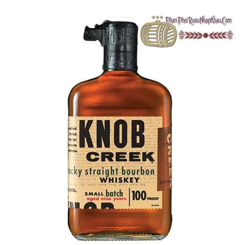 Rượu Whisky Knob Creek 750ml [BM] - phanphoiruounhapkhau.com