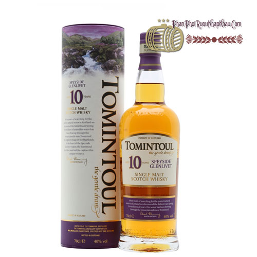 Rượu Whisky Tomintoul 10 năm [VA] - phanphoiruounhapkhau.com