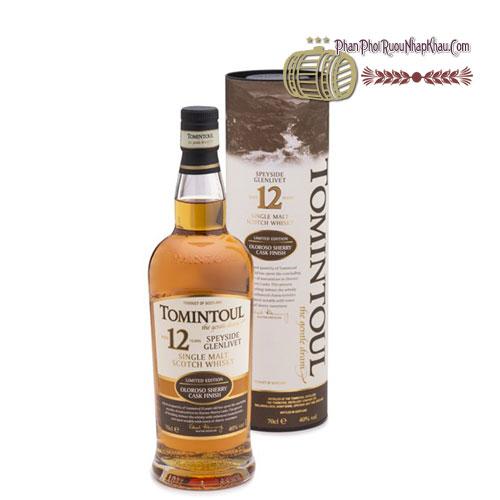 Rượu Whisky Tomintoul 12 năm [VA] - phanphoiruounhapkhau.com