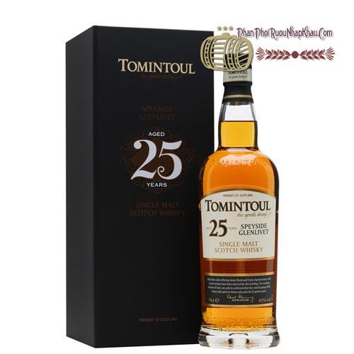 Rượu Whisky Tomintoul 25 năm [VA] - phanphoiruounhapkhau.com