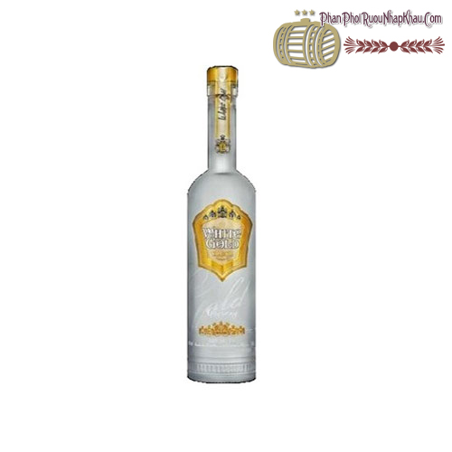Rượu Vodka White Gold Premium 500ml - phanphoiruounhapkhau.com