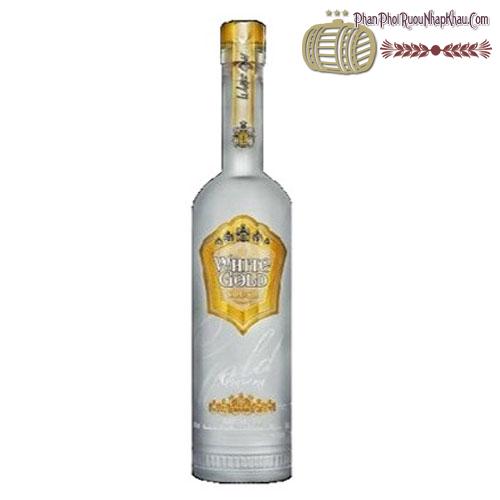 Rượu Vodka White Gold Premium 750ml- phanphoiruounhapkhau.com