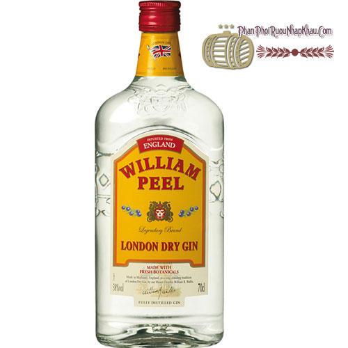 Rượu William Peel Gin [HT]