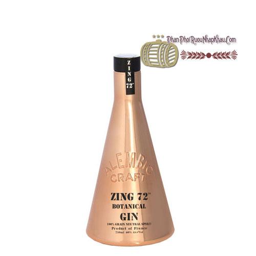 Rượu Zing 72 Botanical Gin [BM] - phanphoiruounhapkhau.com
