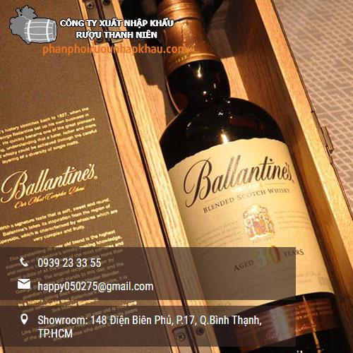 giá rượu ballantines