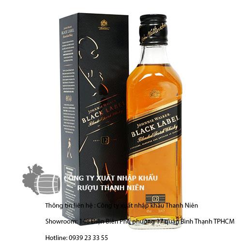 giá rượu johnnie walker black label 12